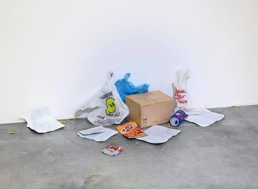 Untitled (Pile of Garbage), 2014