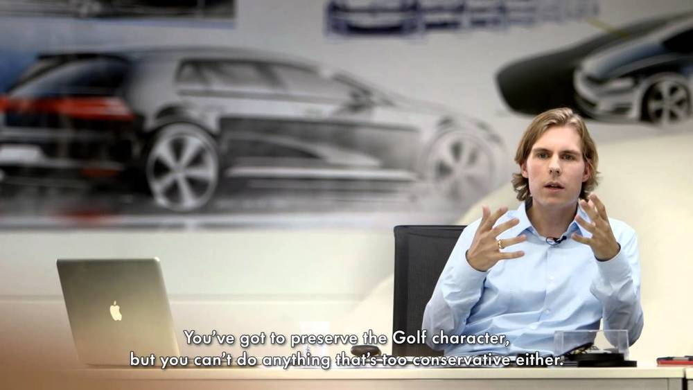 Philipp Römers, na época, designer da VW, hoje na Audi