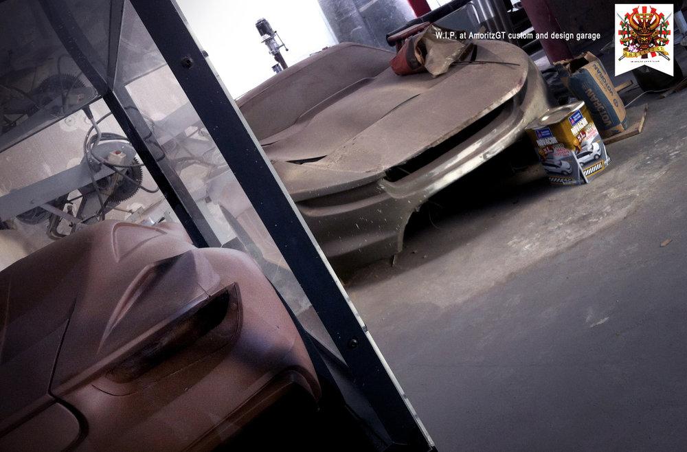 O LSPS, já bem diferente da primeira versão e o modelinho em clay do Doni
