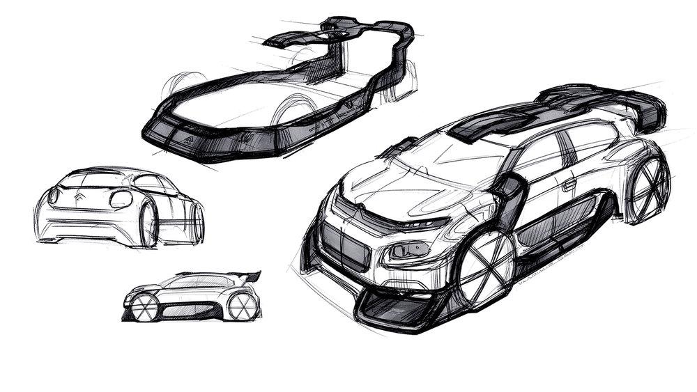 Citroen C3 WRC Concept 2017 by Vladimir Schitt