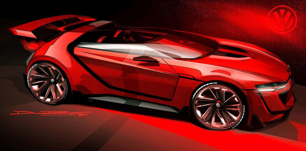 VW Vision GTI by Domen Rucigaj