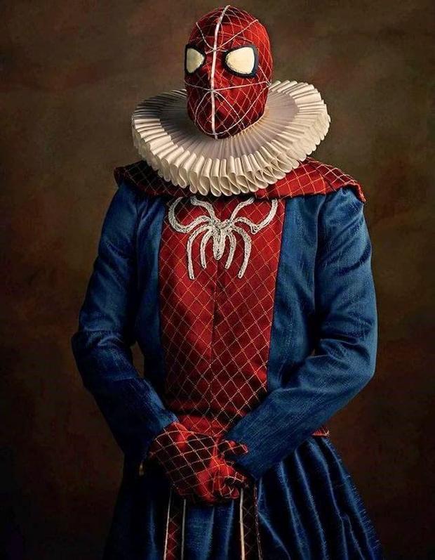 No século XVI os heróis seriam assim! -