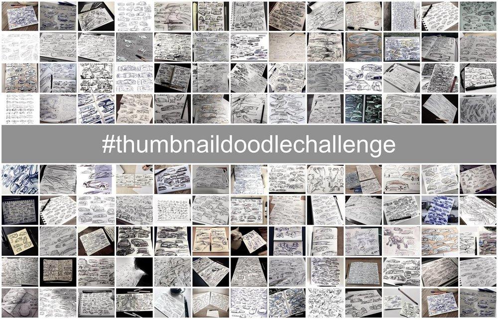 O incrível #thumbnaildoodlechallenge -