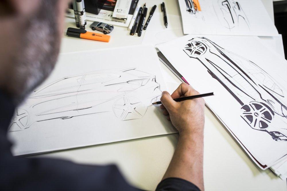 Papel, caneta e óculos 3D -