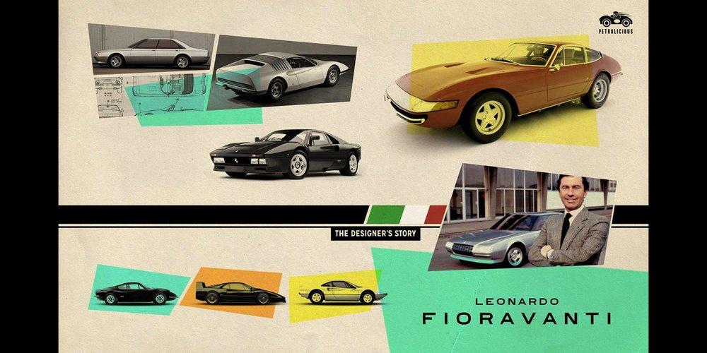 O designer que fez história na Ferrari -