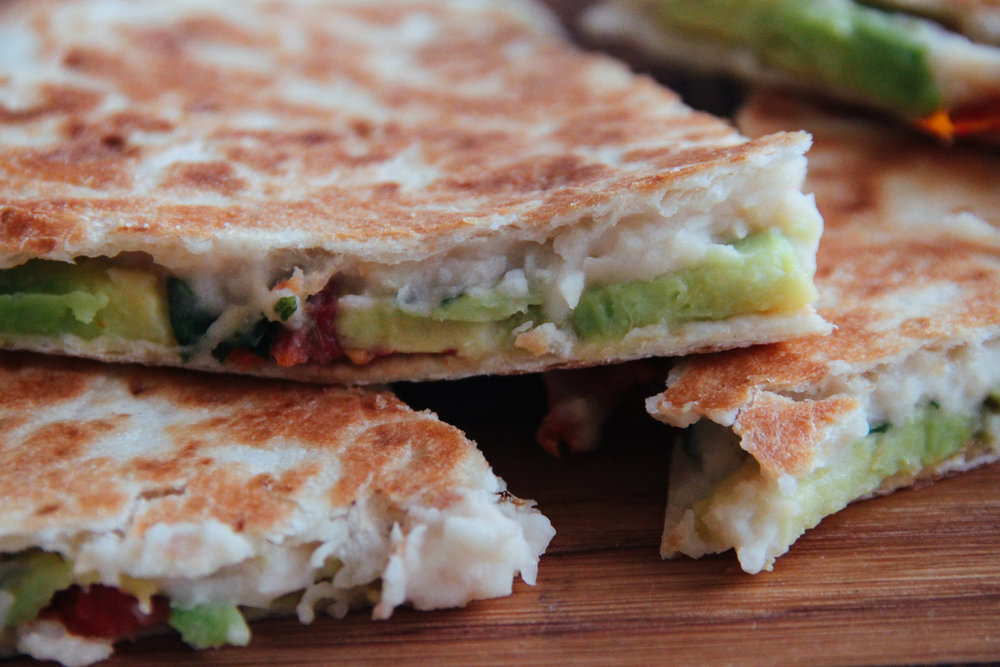 Rustic Bean Quesadilla