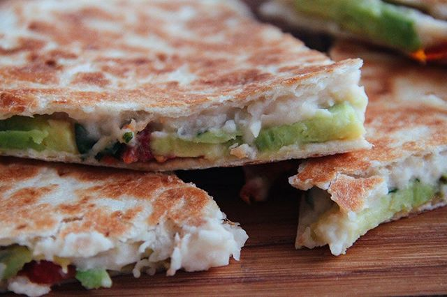 🌿Rustic Bean Quesadilla🌿#veganfood #veganquesadilla #veganappetizer #healthyfood #easymeals #like4like