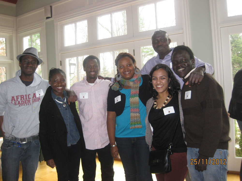 African leadership Academy alumni reunite while university students in the United States.
