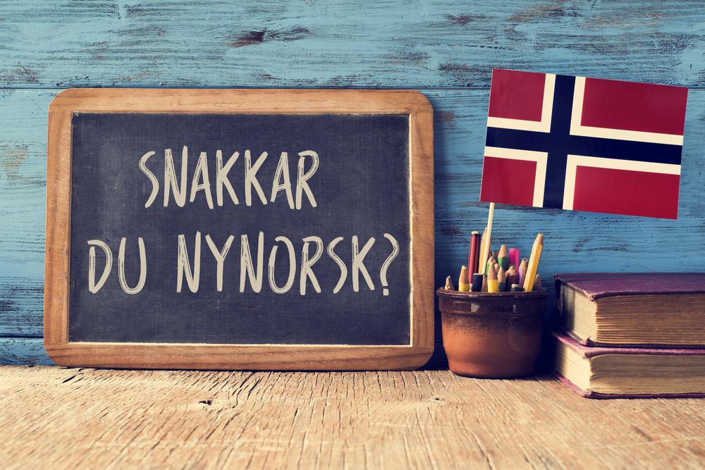 Norjan kielet - uusnorja ja kirjanorja