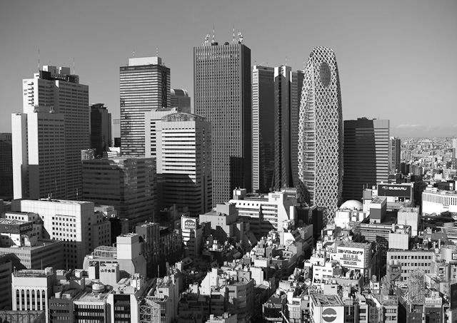 Shinjuku's Central Business District — ShootTokyo