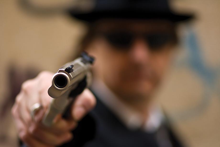 Gun by Bryan Peterson