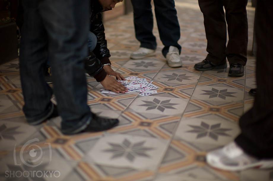 Gambling Feet