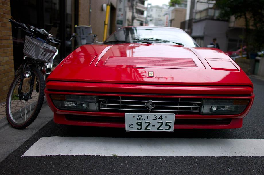 Ferrari in Tokyo, Japan