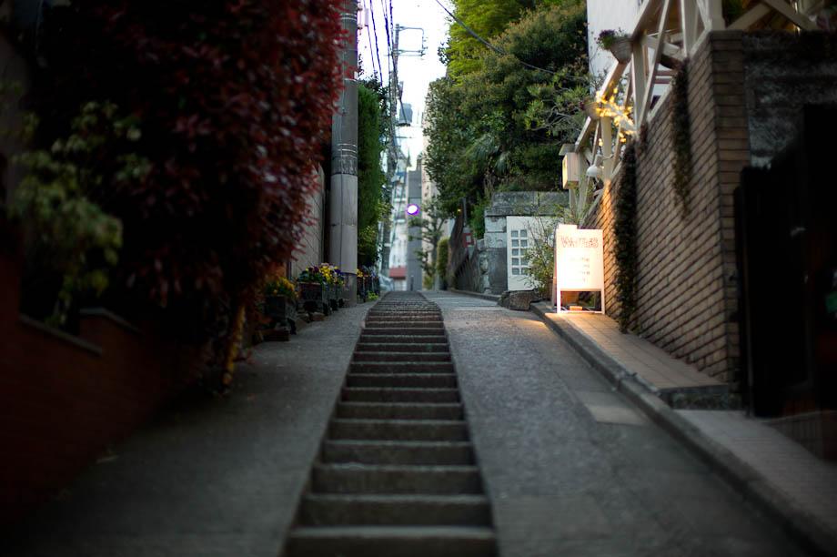 Stairs in Daikanyama, Tokyo, Japan