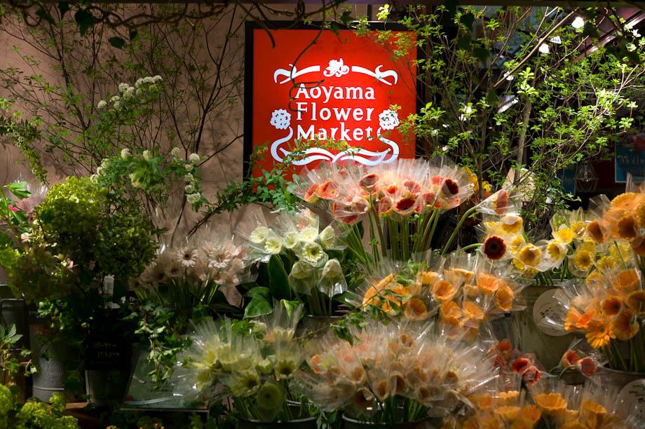 Aoyama Flower Shop in Shibuya