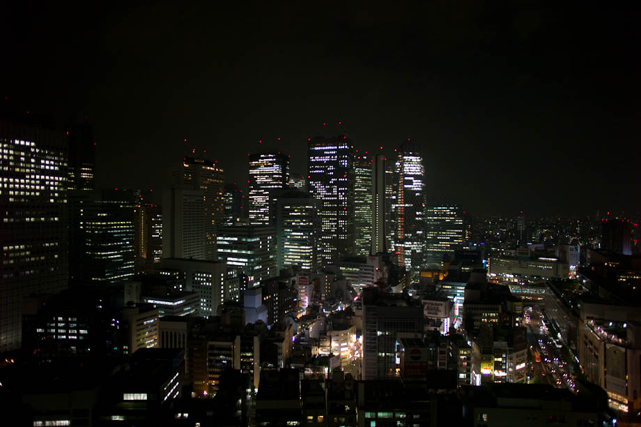 Dark Shinjuku, Tokyo, Japan