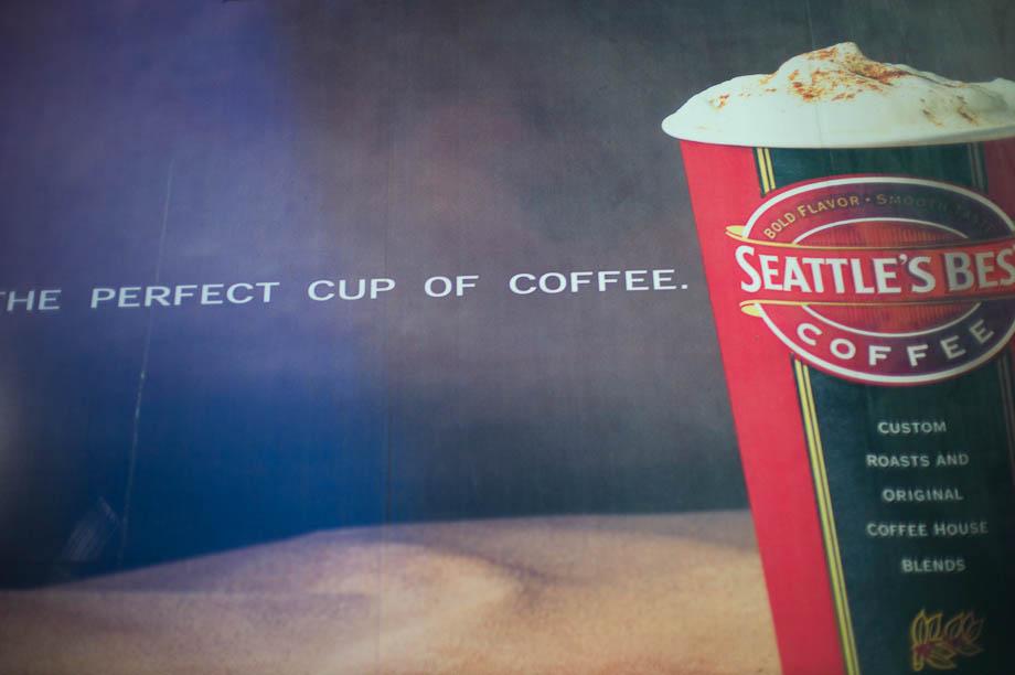 Seattle's Best Coffee, Shinjuku, Tokyo, Japan