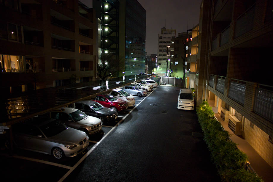 Parking Lot in Nakameguro