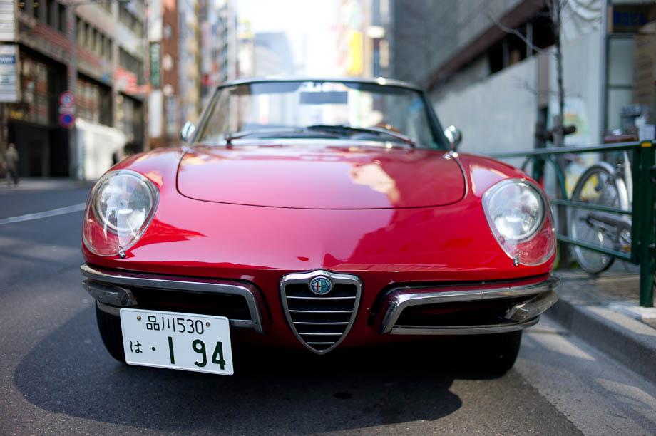 Alfa Rameo, Tokyo, Japan