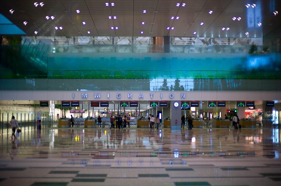 Singapore Airport, Tokyo, Japan