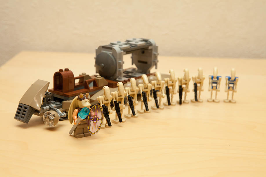 LEGO Star Wars 7929 The Battle of Naboo ナブーの戦い Naboo 7929