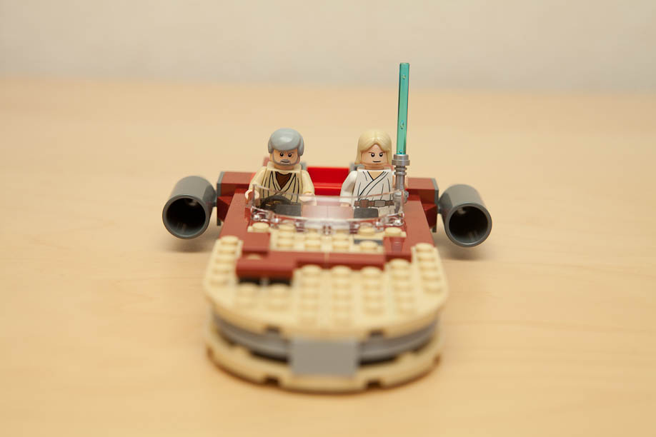 LEGO Star Wars 8092 Luke's Landspeeder set with figures レゴスターウォーズ8092ルークのLANDSPEEDER