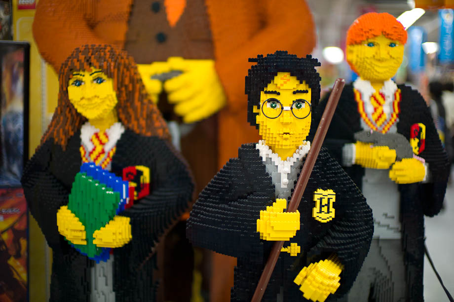 Giant Harry Potter Legos