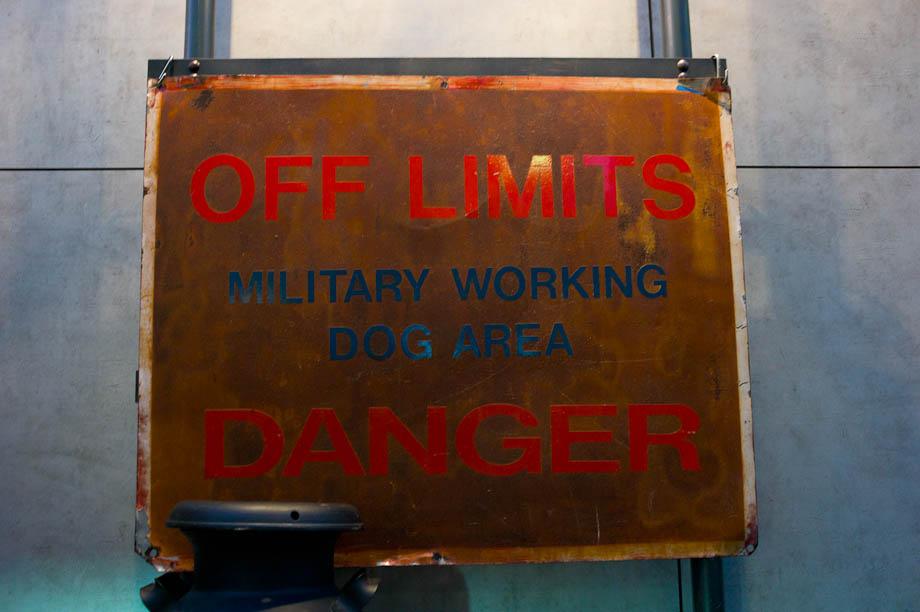 Off Limits Sign in Nakameguro, Tokyo, Japan