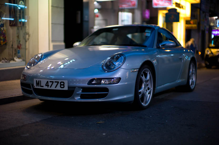 Porsche in Hong Kong