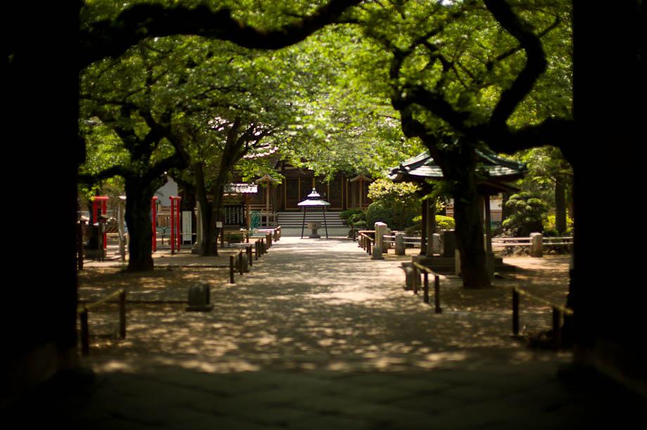 Yutenji Temple in Yutenji, Tokyo, Japan