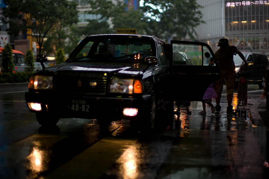 Rainy Hachiko, Shibuya, Tokyo, Japan