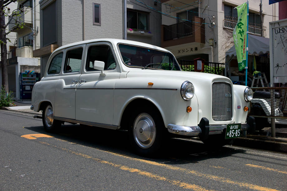 London Taxi Cab in Tokyo