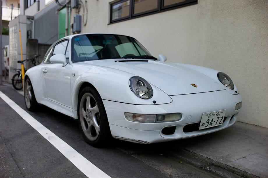Porsche in Nakameguro, Tokyo, Japan