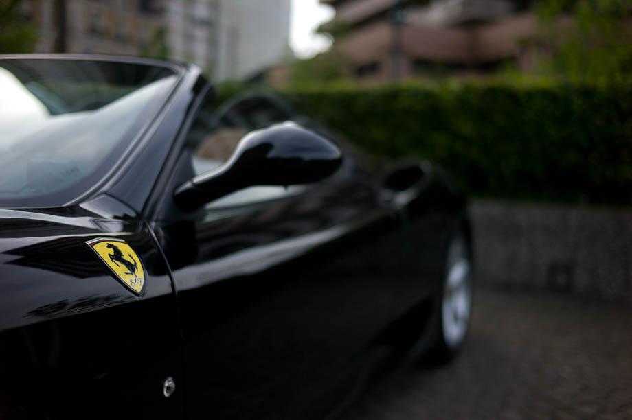 Ferrari in Ebisu, Tokyo, Japan