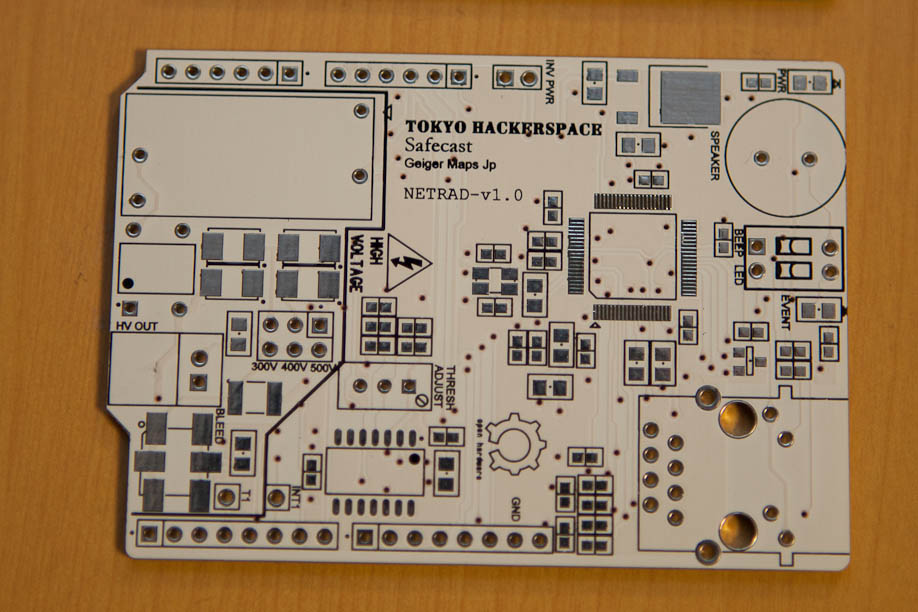 Motherboard for a Geiger Counter
