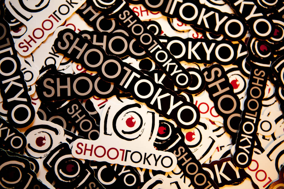 Shoot Tokyo Stickers