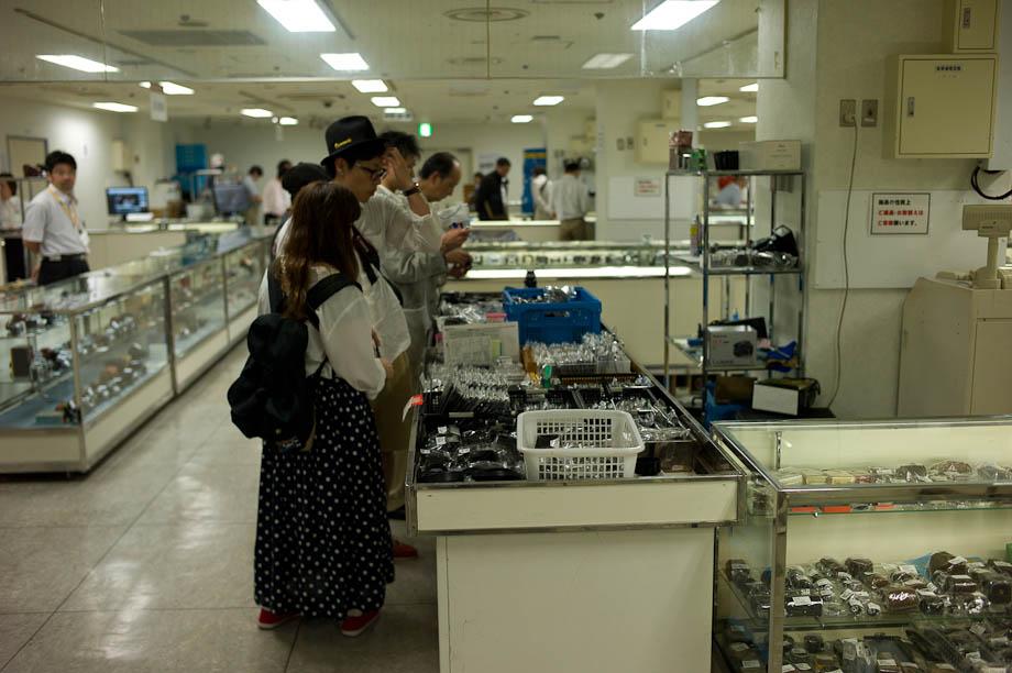 World Used Camera Fair in Shibuya