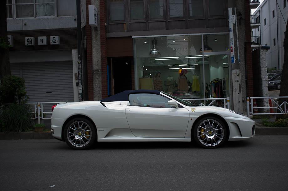 Ferrari in Daikanyama