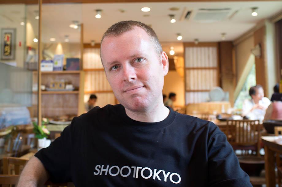 Shoot Tokyo having lunch at Ren in Jiyugaoka