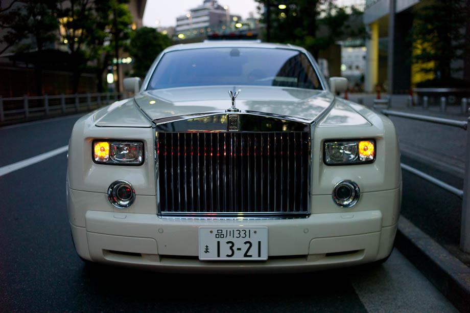 Rolls Royce in Tokyo