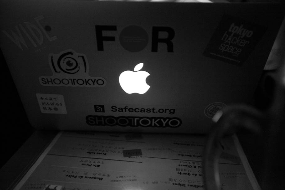 Drinks with Safecast.org at Farol in Omotesando
