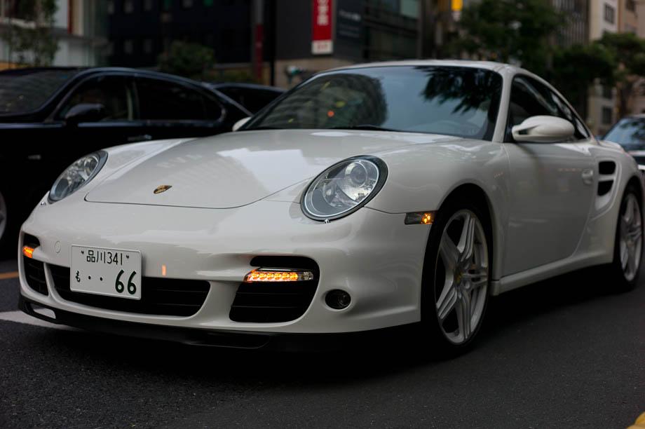 Porsche in Ginza