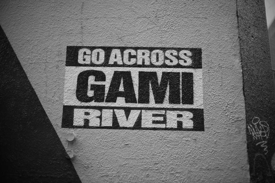 Go Across Gami River