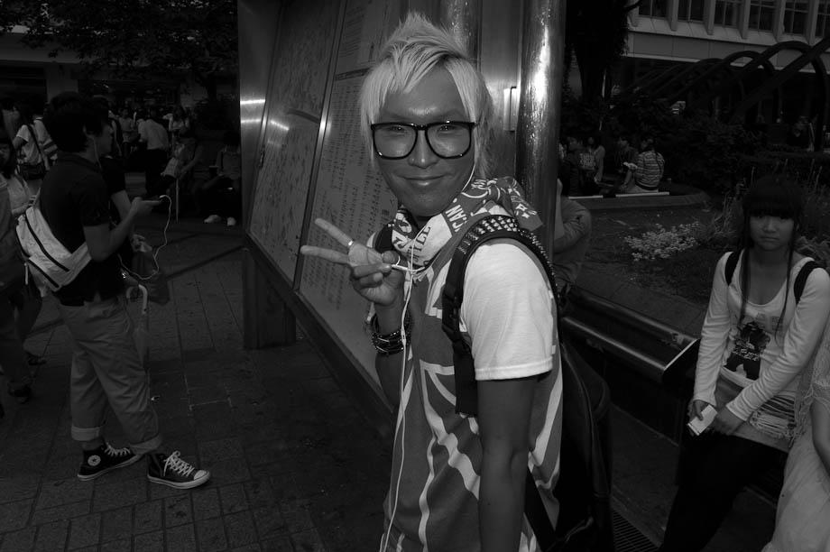 Funny guy in Shibuya