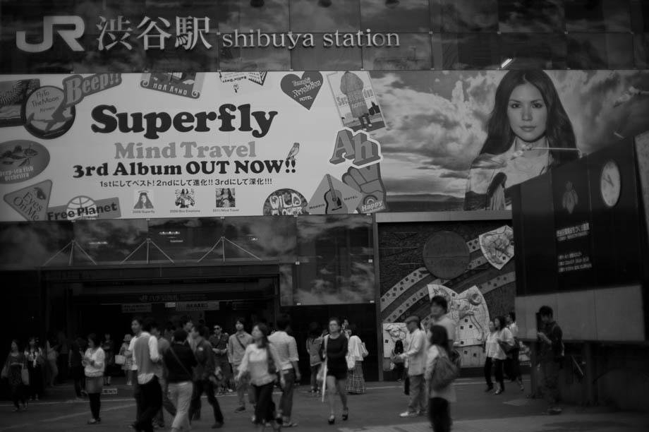 Superfly in Shibuya, Tokyo, Japan