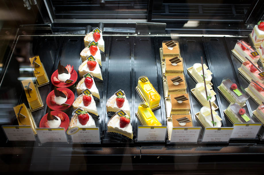 Cakes in Tokyo