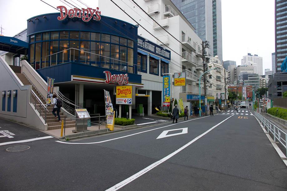 Denny's in Shinjuku