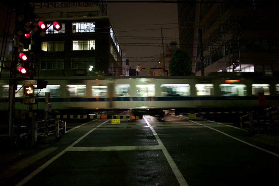 Train in Shinjuk