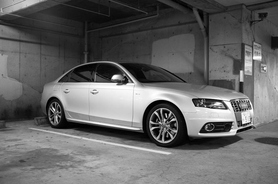 The Shoot Tokyo Audi S4