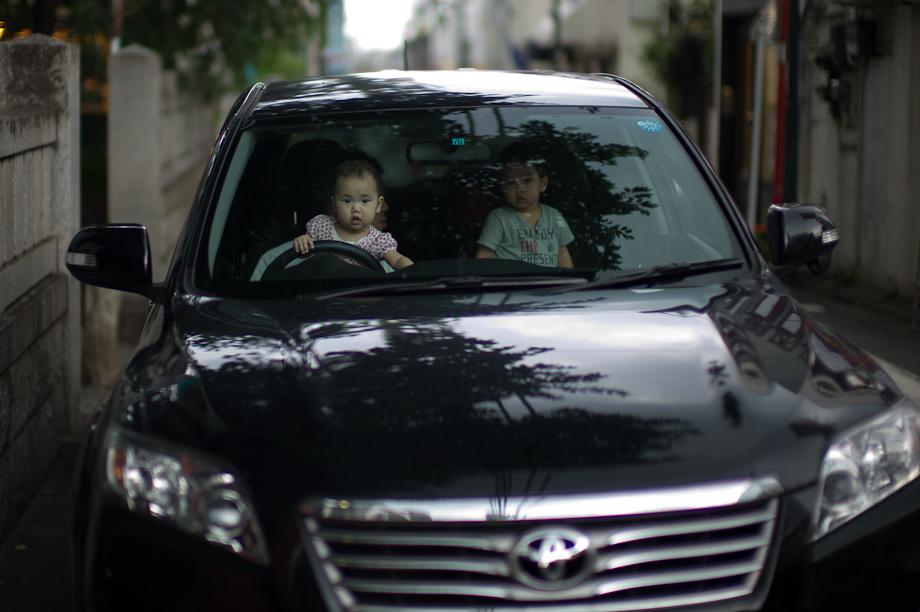 Driving in Jiyugaoka